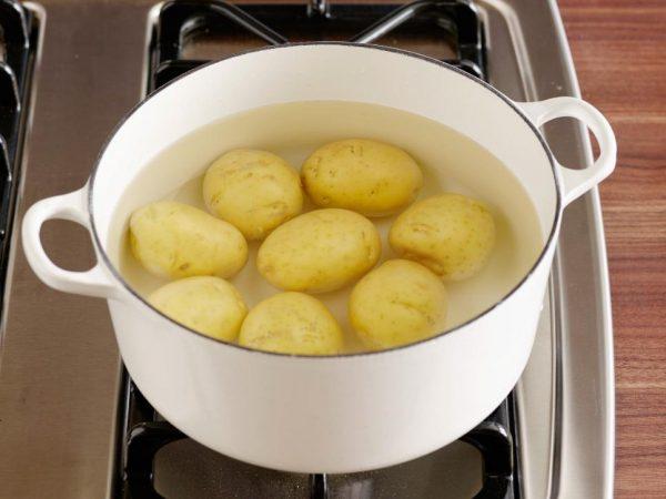 pomme de terre bouillies