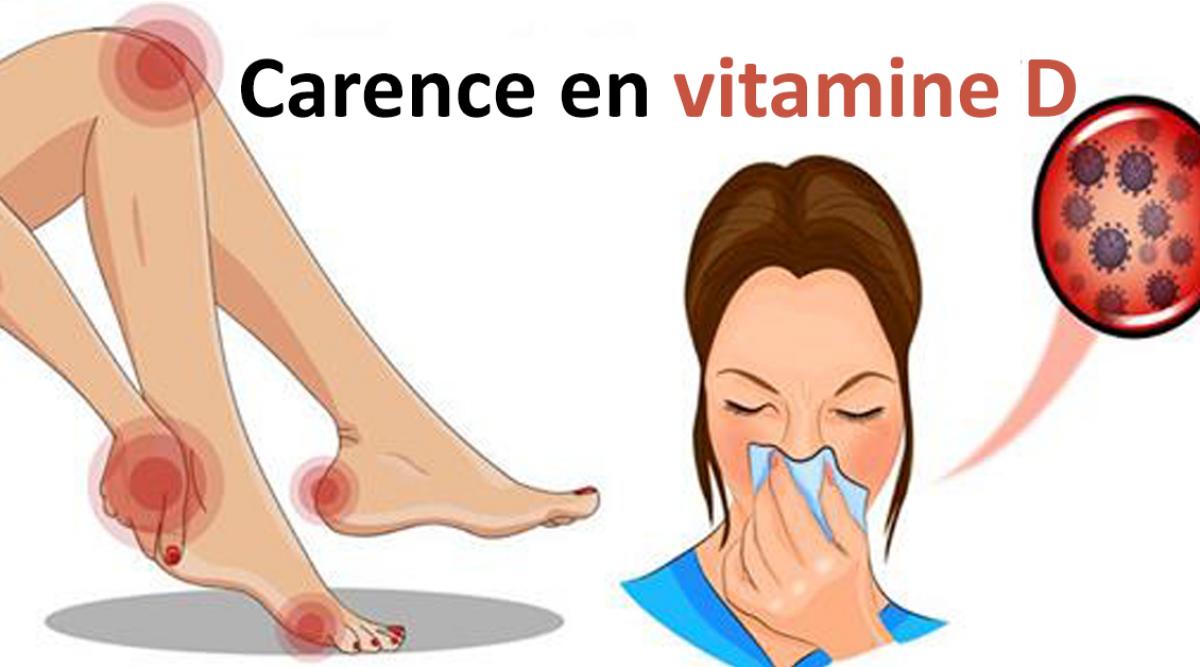 Le manque de vitamine D vous rend malade et fatigué : 15..
