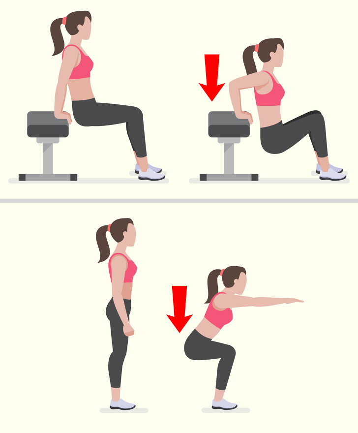 exercices hanches et cuisses