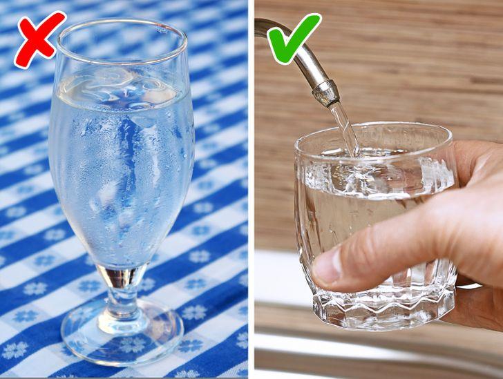boire eau glacee